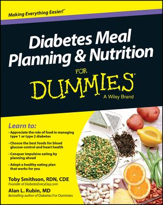 Diabetes Nutrition and Meal Planning for Dummies By Consumer Dummies (COR)
